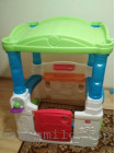Дитячий будиночок-веранда з кульками