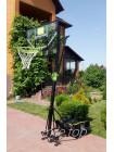 Переносной баскетбольный щит EXIT Galaxy green/black