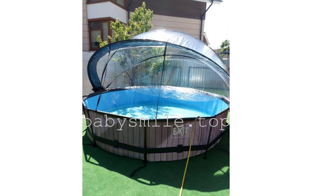 Бассейн с куполом EXIT- по следам отзывов наших покупателей