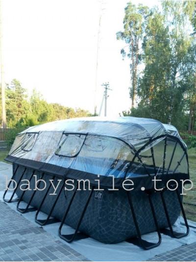 Бассейн EXIT с куполом Дерево 400 х 200 см