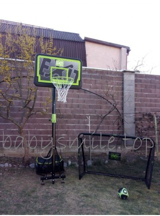 Переносний баскетбольний щит EXIT Galaxy black