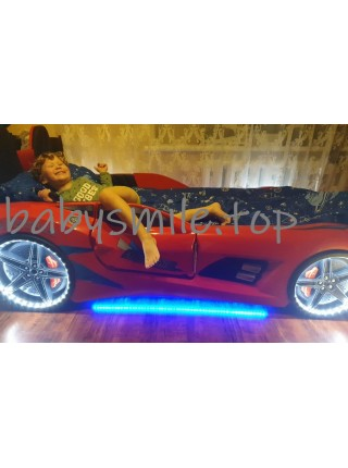 Ліжко машинка Audi червона Туреччина