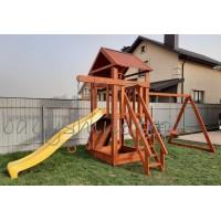 Ігровий майданчик з дерева Вежа-19
