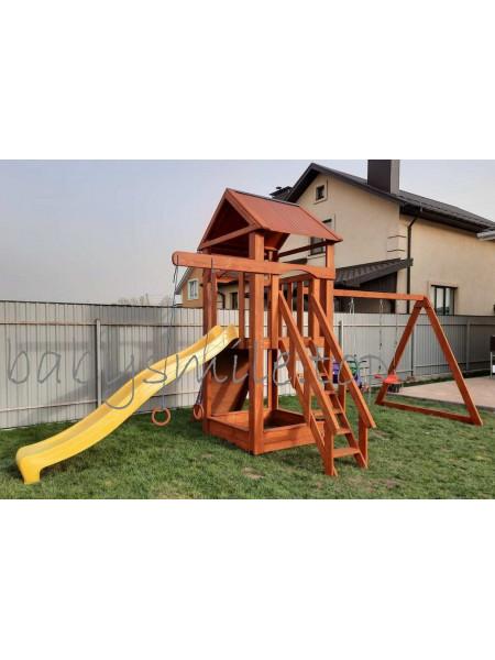 Игровая площадка из дерева Башня-19