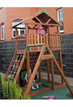 Игровая площадка деревянная Башня-20