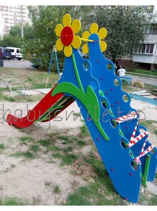 Горка для детской площадки Цветочек