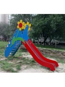 Гірка для дитячого майданчика Квіточка