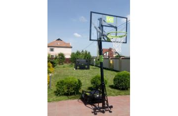 Спортивный дуэт - футбольные ворота и баскетбольная стойка