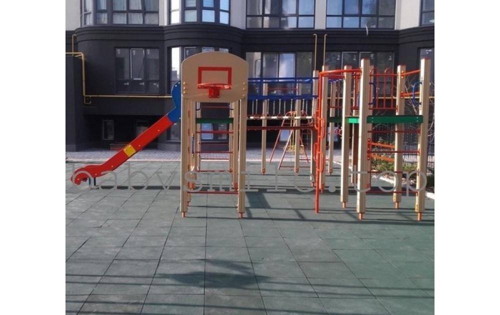 Установка уличной игровой площадки в новостройке