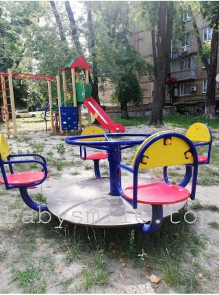Дитяча карусель Класична 4-х місцева БС-308