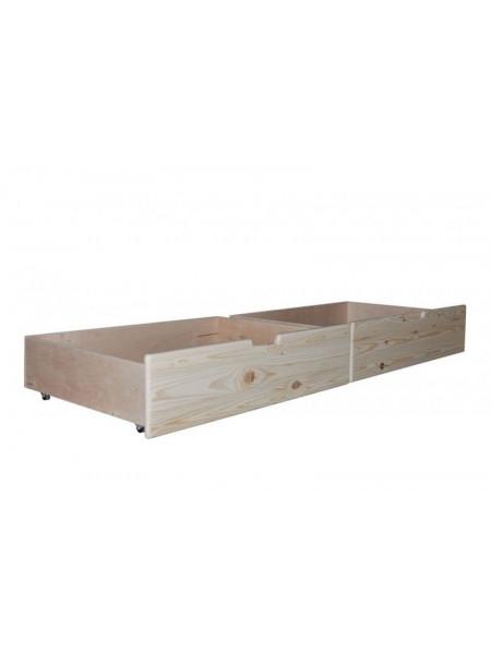 Ящики подкроватные сосновые