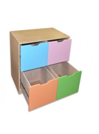 Комод из сосны с  выдвижными ящиками Кенга