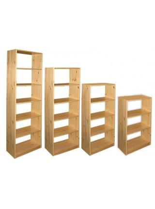 Стелаж дерев'яний 40*30*110 см