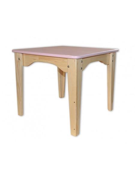 Детский столик розовий