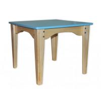Детский столик синий