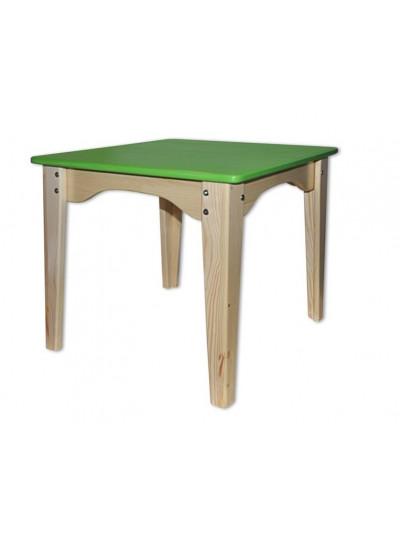 Дитячий столик зелений