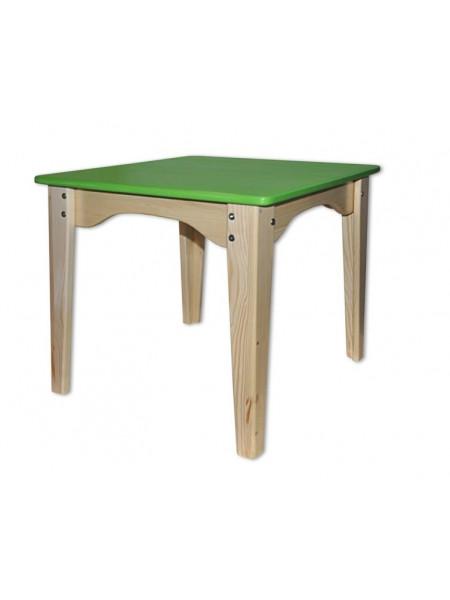 Детский столик зелёный