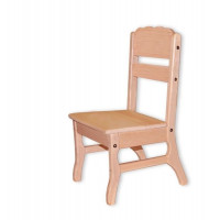 Дитячий стільчик дерев'яний Бук