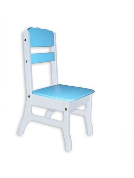 Детский стульчик деревянный Морской