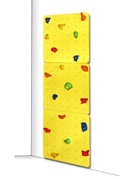 Доска для скалолазания жёлтая