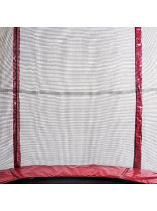 Батут Атлет 435 см з сіткою і подвійними опорами