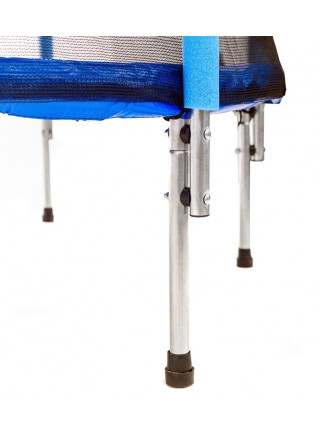 Дитячий батут Атлето 140 см синій