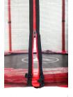 Батут Атлето червоний 183 см з драбинкою