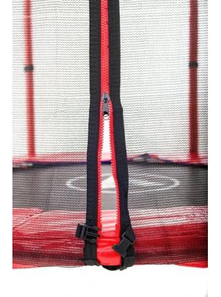 Детский батут Атлето 140 см красный, зелёный