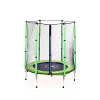 Детский батут Атлето 140 см зеленый