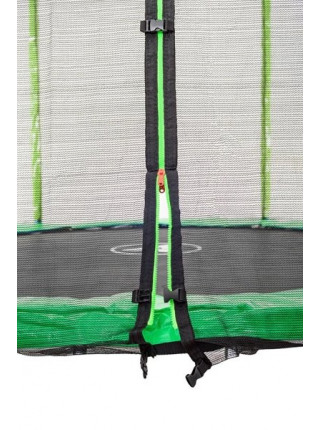 Дитячий батут Атлето 140 см зелений