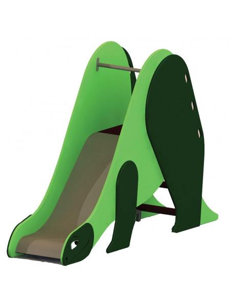 Горка детская металлическая Динозаврик