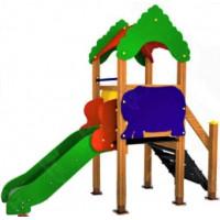 Детская горка Парковая башенка