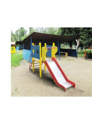 Горка для детской площадки Полянка