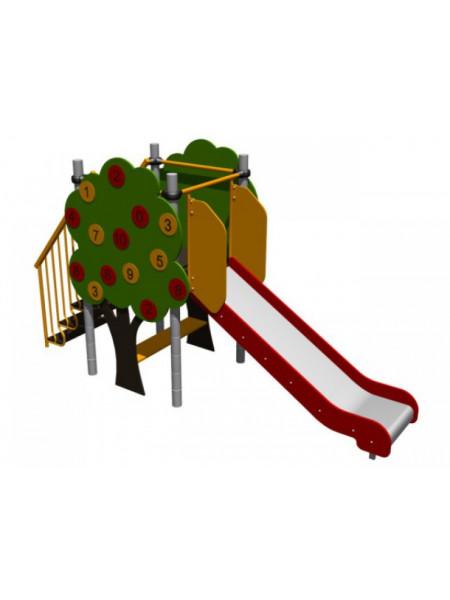 Гірка для дитячого майданчика Яблунька