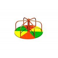 Карусель-вертушка кольорова