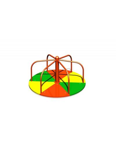 Карусель-вертушка цветная