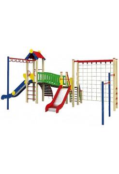Спортивно-ігровий комплекс для вулиці Люкс- 2