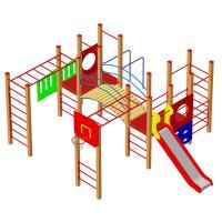 Спортивно-игровая площадка Тарзан