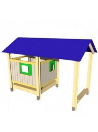 Игровой домик с верандой