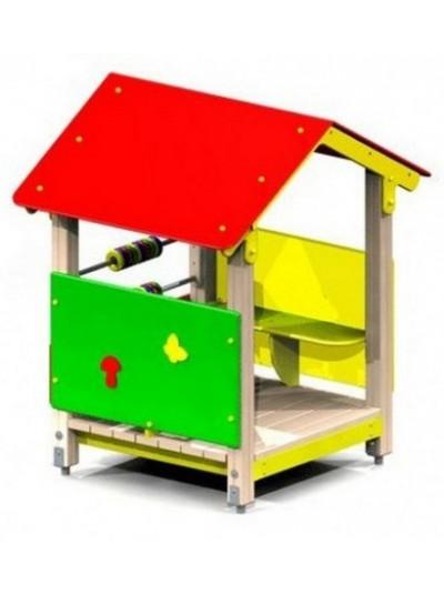 Деревянный домик для детей Полянка