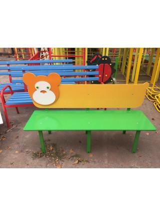 Лавка для детской площадки Мишутка