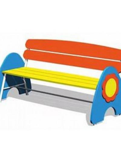 Скамья для детской площадки Подсолнух