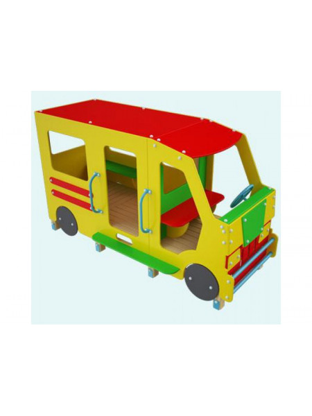 Машинка для игровой площадки Маршрутка