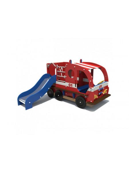 Ігрова пожежна машина з гіркою