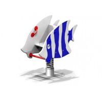Гойдалка на пружині Морська рыбка