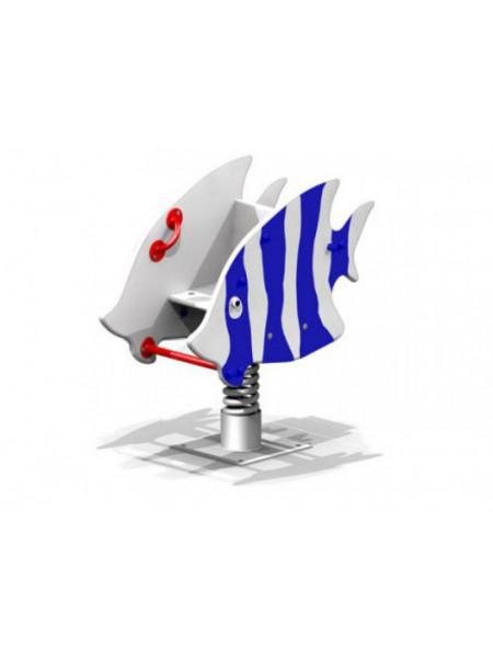 Качели на пружине Морская рыбка
