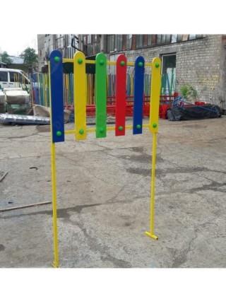 Паркан для ігрового майданчика кольоровий