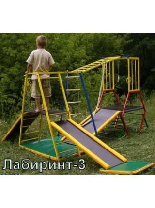 Спорткомплекс з металу Лабіринт-3
