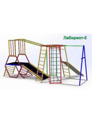 Спорткомплекс из металла Лабиринт-5