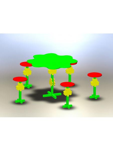 Столик для детской площадки Дубок